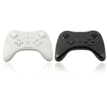 Gamepads Wireless Bluetooth Remote Controller Gamepad For Nintendo for Wii U Black White