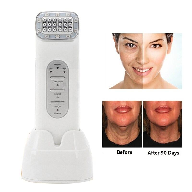 Thermage visage RF radiofréquence pour le levage du visage lissage des yeux sacs élimination des rides resserrement de la peau beauté visage outils de soins de la peau