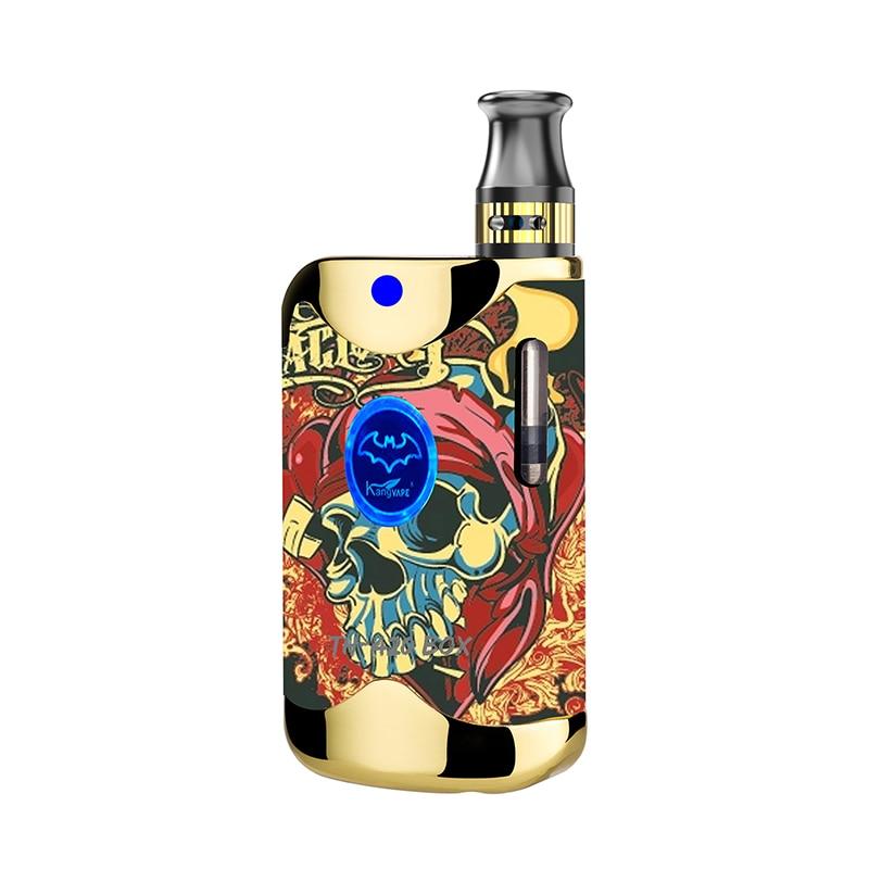 Mini Vape TH-420 II MOD boîte CBD atomiseur Shisha 650mah Mod boîte stylo vapeur Kit de démarrage narguilé vaporisateur tabac e-cigarette