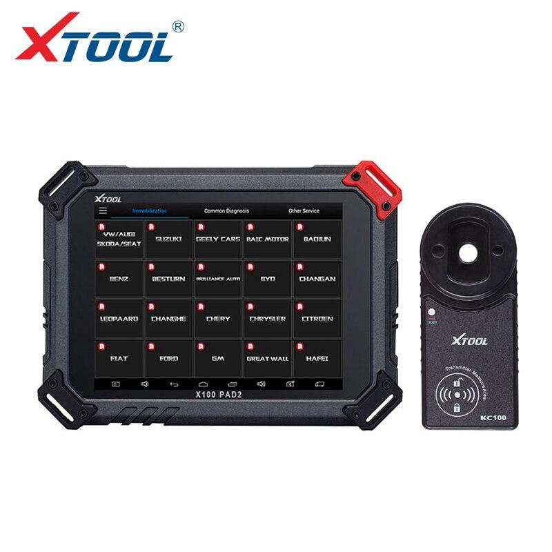 100% D'origine Xtool X100 PAD2 Pro Wifi et Bluetooth avec VW 4ème 5ème X100 PAD 2 Pro avec fonction Spéciale mieux que X100 Pad