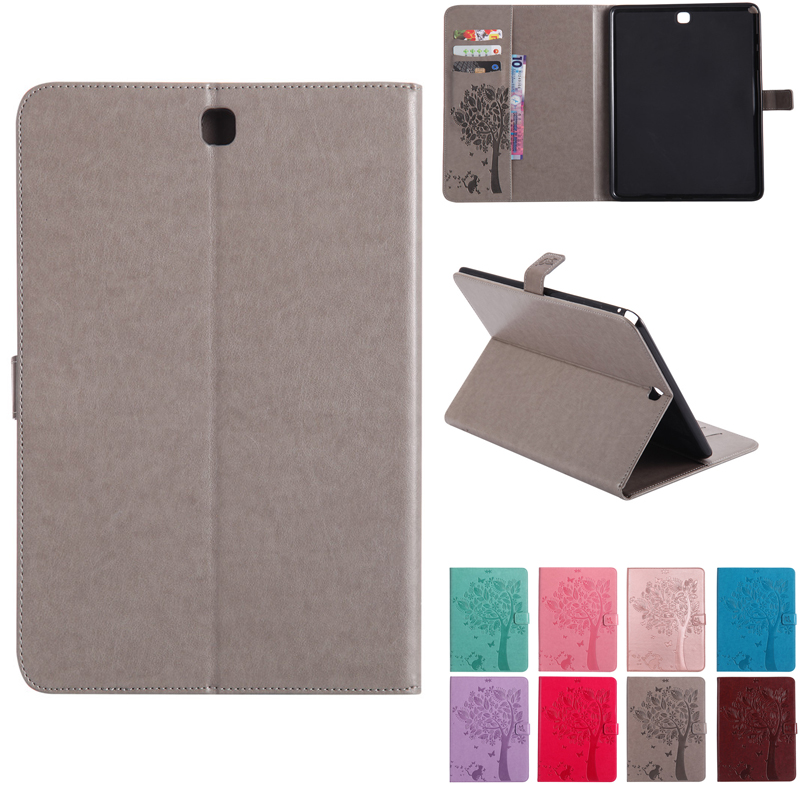 SM-T555 High quality PU leather Stand Case For <font><b>Samsung</b></font> <font><b>Galaxy</b></font> <font><b>Tab</b></font> <font><b>A</b></font> 9.7 inch Cover T555 <font><b>T550</b></font> SM-<font><b>T550</b></font> <font><b>Funda</b></font> <font><b>Tablet</b></font> Flip Cases image
