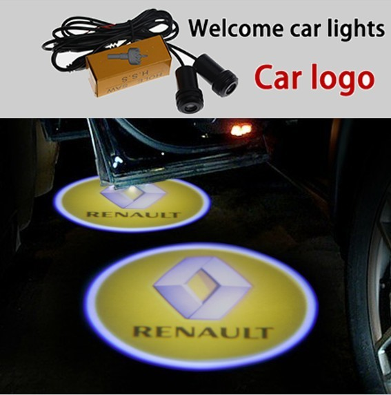 Ghost Shadow Licht Voor Renault Led Auto Logo Projector Auto