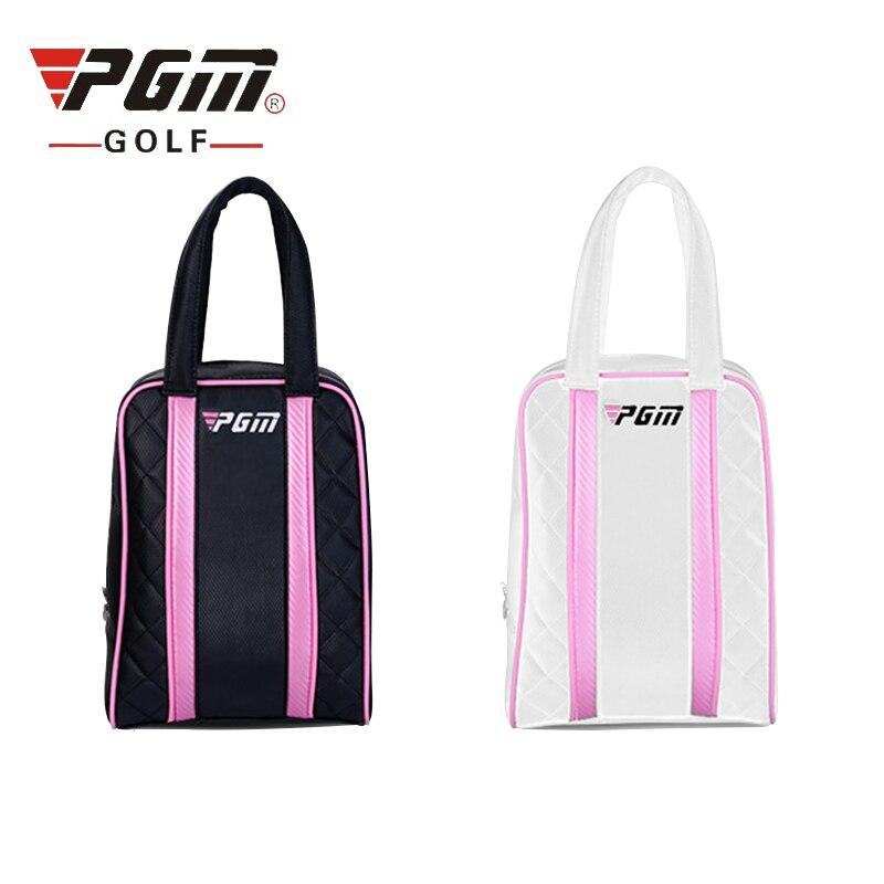 Pgm Top Quality Golf Shoes Bags Women Waterproof Travel Bag Nylon Durable Golf Bags For Shoes Lightweight Sports Handbag D0051
