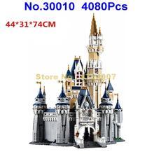 69652/30010 4080pcs creator princess castle city 5 figures building block  71040 Toy