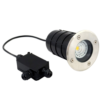 5W Waterproof LED Underground Light Kit IP67 Gu10 Outdoor Ground Garden Path Floor Buried Yard Spot Landscape with gland IP BOX