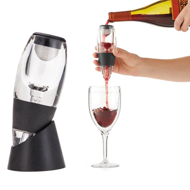 Mini Red Wine Aerator Filter Magic Decanter Essential Wine Quick Aerator Wine Hopper Filter Set Wine With box