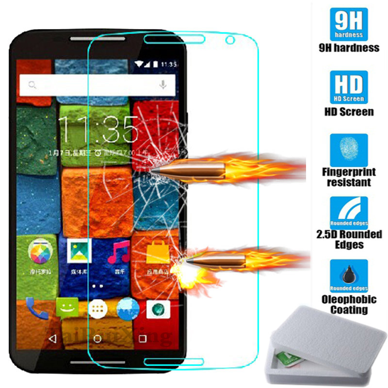 Tempered Glass For Motorola Moto G G2 G3 G4 G5 Plus Screen Protector Cover Accessory For Moto X 2 X Play Style E E2 Z Play Glass