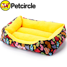 petcircle new arrivals large pet dog cat beds cute soft pet dog house pet dog kennels for chihuahua 9 colors free shipping