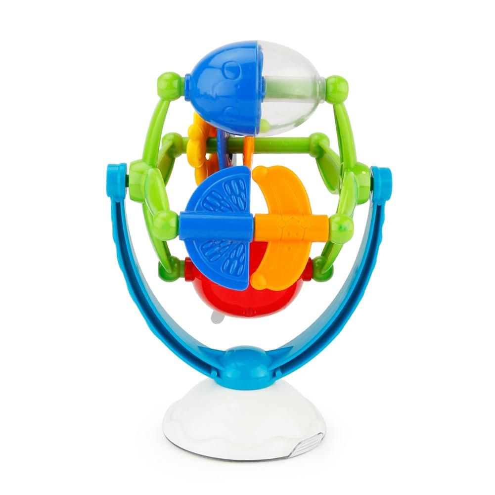 LeadingStar Turntable Toy With Suction Cup Baby Rotatable Intellectual Development Toy Toddler Infant Cartoon Rotary Windmill 25