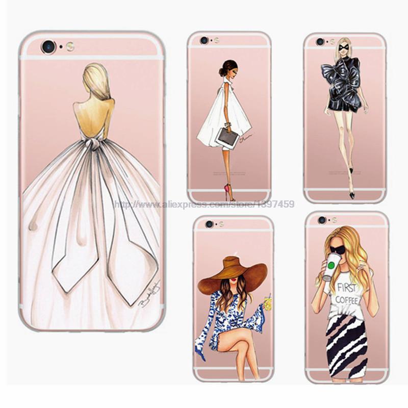 Aliexpress.com : Buy Beautiful Fashion Girl Painted ...