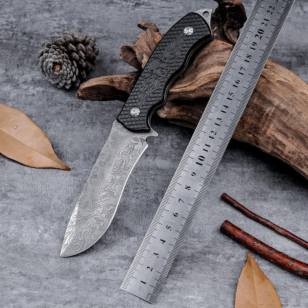 High Quality Cold Steel D2 Survival font b Tactical b font Hunting font b Knife b