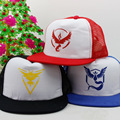 Free shipping HOT Game Pokemon Go  baseball cap hat cosplay Mesh  hat