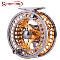 Рыболовная катушка Sougayilang Fly  большая катушка 2 + 1 BB с корпусом из алюминиевого сплава с ЧПУ и катушкой