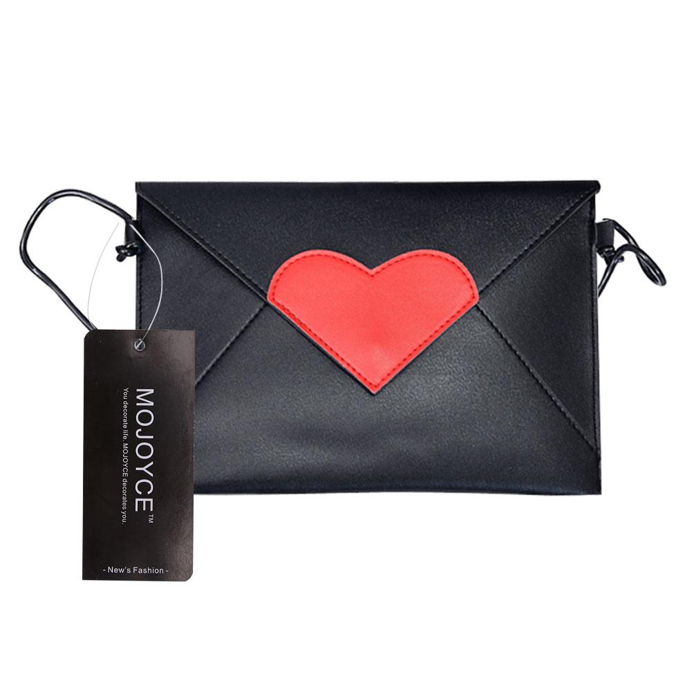 Lovely Cute Girl Pu Handbag Women Leather Handbags Love Heart Print Women Messenger Bags  Small Mini Shoulder Crossbody Bag