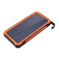 Solar Power Bank 20000mah Large Capacity Mobile Phone Battery Portable Charger Power Supply Dual USB Ports
