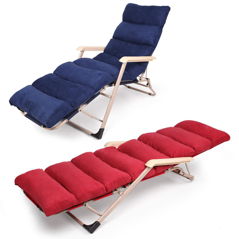 High quality folding bed folding lunch break chair single ...