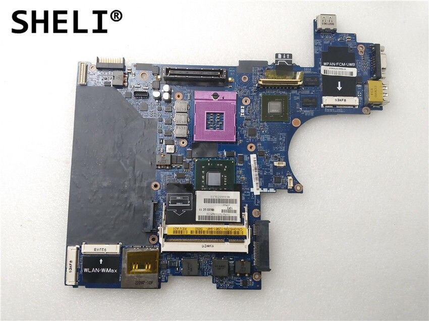 SHELI For Dell E6400 Motherboard with Discrete Video Card LA-3806P CN-0H570N 0H570N H570NSHELI For Dell E6400 Motherboard with Discrete Video Card LA-3806P CN-0H570N 0H570N H570N