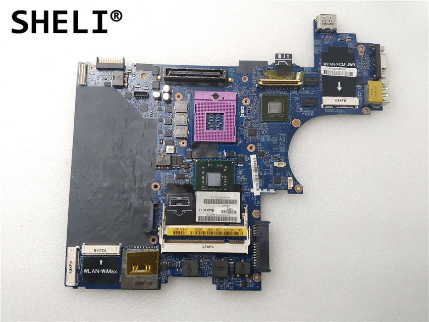 SHELI For Dell E6400 Motherboard with Discrete Video Card LA-3806P CN-0H570N 0H570N H570N