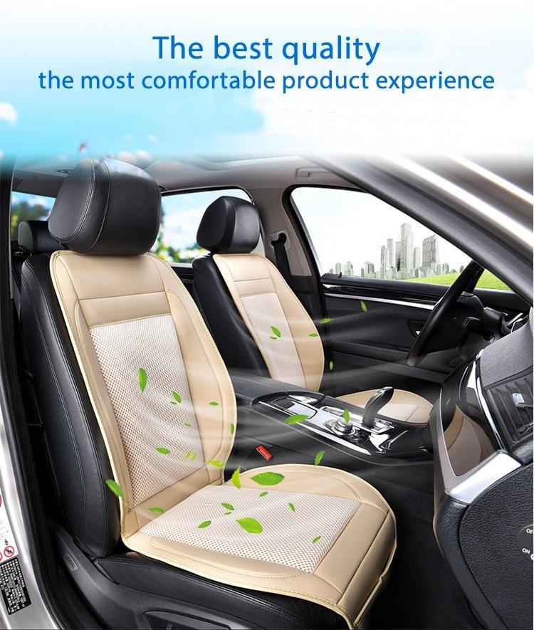Car seat ventilation summer fan blower single cooling massage multi functional 3D ice silk