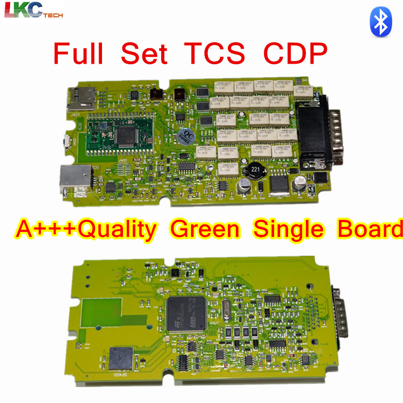 Prix pour Le plus bas Prix A + + Qualité TCS CDP PRO NOUVEAU VCI Avec bluetooth + carte unique vert logiciel 2014R2/2015. R3/2015.1 Livraison Activé