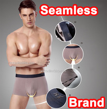 2pcs/box High quality mens boxers underwear brand comfortable panties breathable seamless sexy underwear big men boxer