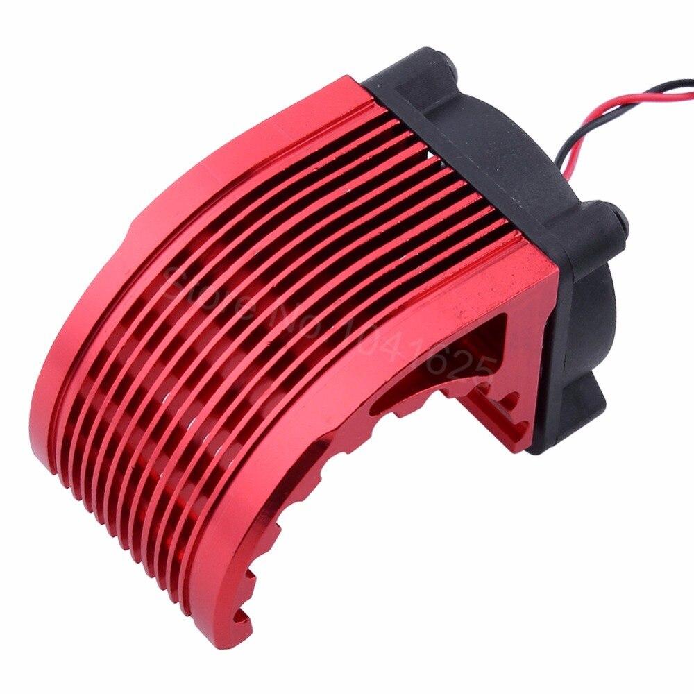 CNC 42mm Kühlkörper mit Lüfter Für RC Auto Teile Elektrische Motor ...