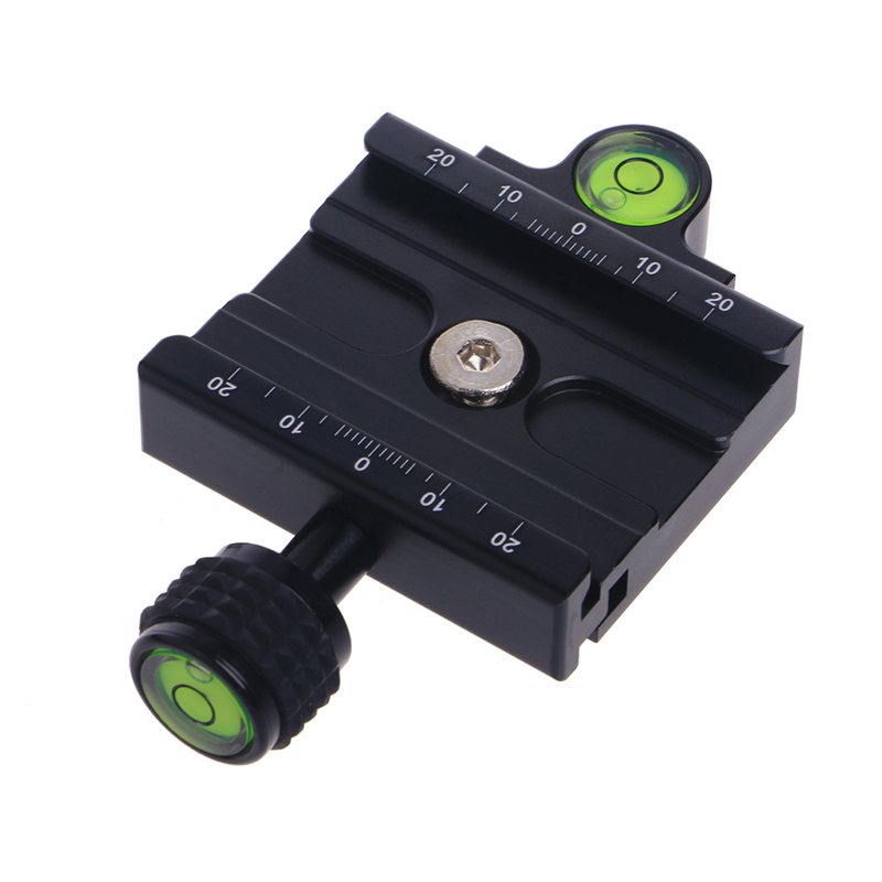 OOTDTY 60mm Clamp For QR-60II Aluminum Quick Release Plate Camera Ball Head Universal