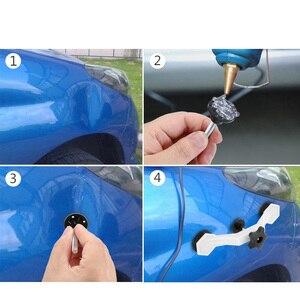 Image 3 - Corpo do carro auto dent pit repair tool kit removedor ponte cola extrator levantador com 5pcs guias de cola painel paintless mini pequenas ferramentas