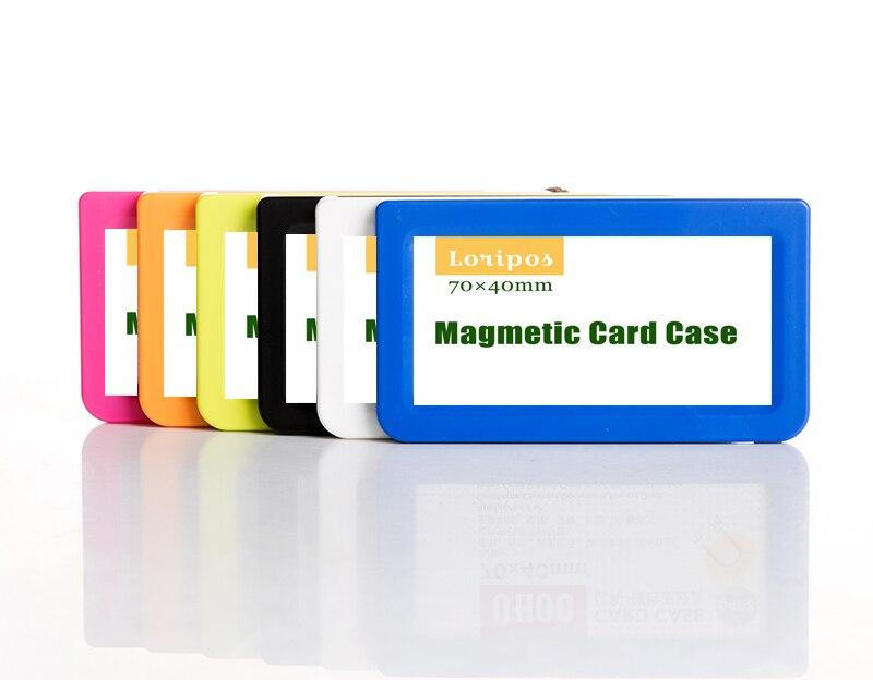 70*40mm Magnetic Name Tag Card Label Paper Sign Holder Case Display Rack Remover Fridge Magnet Frame Shelf Price Talker Signage