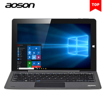 10.1 дюймов Портативный ноутбука Окна 10 Планшеты PC 64 ГБ/4 ГБ Aoson R105 Intel Cherry Trail Z8300 1280*800 с клавиатурой GPS HDMI