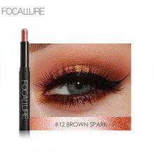 Focallure Metallic Eye Shadow Pen Natural Long Lasting 12 Colors Eyeshadow Pencil 1pc Makeup Tools Eyeshadow Pen Shadow Stick цена