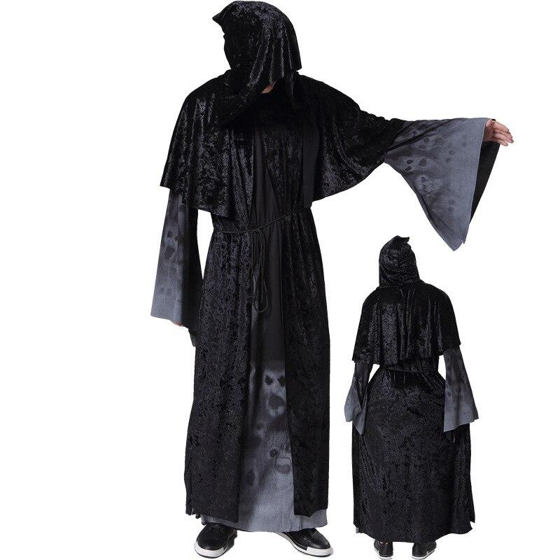 parca vestido demon terror vampire diablo cosplay femenina uniformes disfraces de halloween para hombres