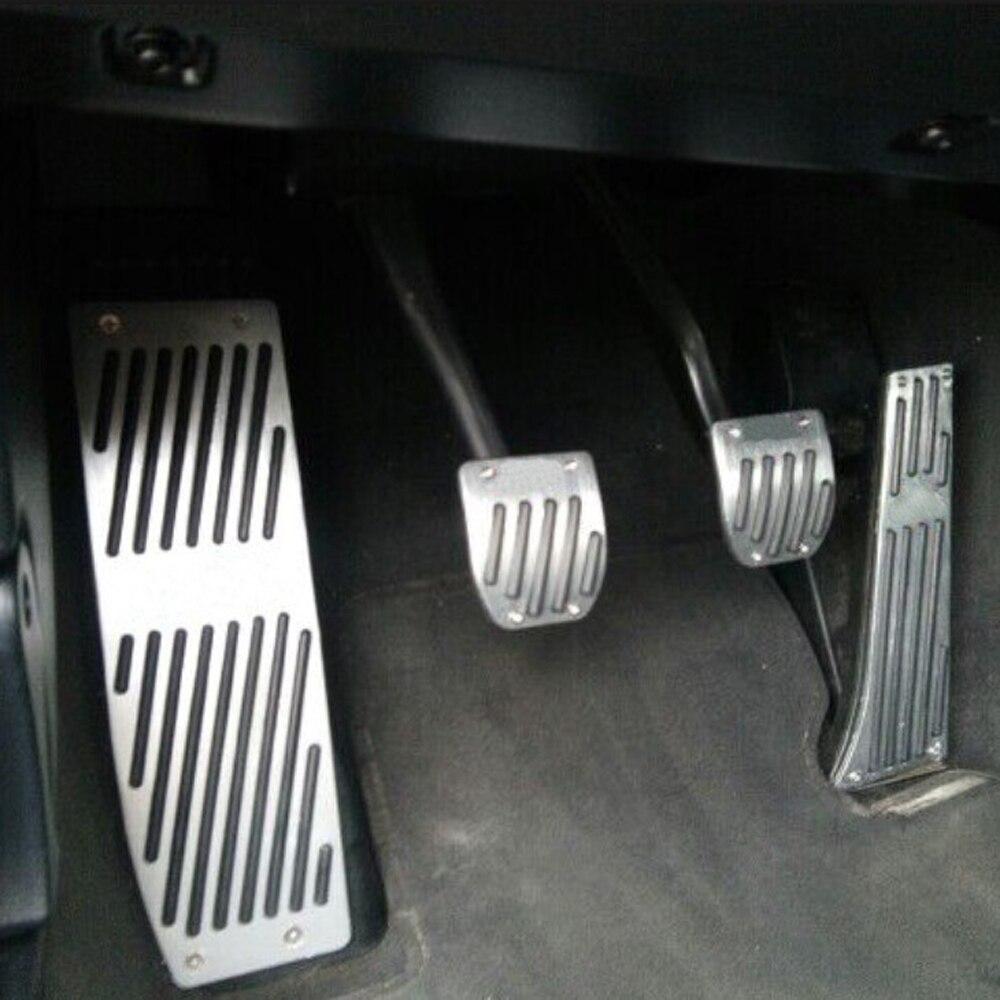 Prix pour Haute qualité En Alliage D'aluminium Reste Gaz pédale De Frein Pédale pour BMW X1 M3 E39 E46 E87 E84 E90 E91 E92