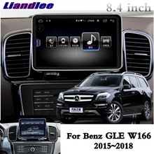 For Mercedes Benz MB GLS GL Class X166 2016~2018 Liandlee Car Multimedia Player NAVI Car Radio Accessories GPS Navigation