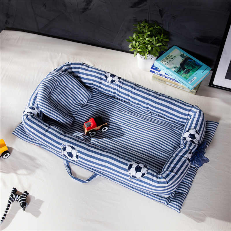 Baby Nest Bed Travel Crib Baby Bed Sleeping Cradle Portable Newborn Baby Co-sleeping Carrycot