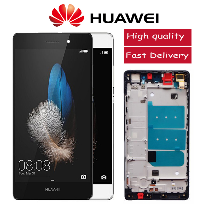 Original 5 0 U0026quot  Lcd For Huawei P8 Lite Ale L21 Display With Touch Screen Digitizer Assembly