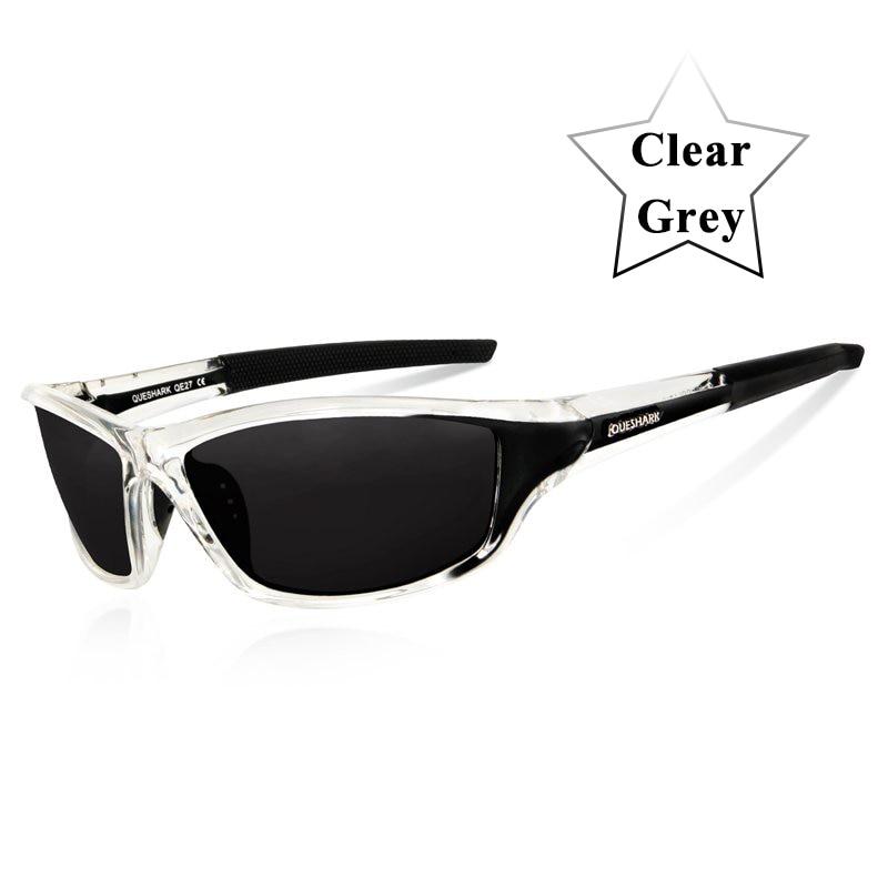 Queshark UV400 Polarized Cycling Glasses Sports Bicycle Sunglasses Bike Glasses Ski Goggles Fishing Cycling Hiking Eyewear 8