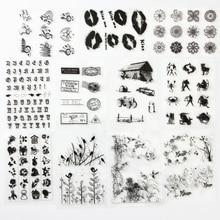 1 шт./компл. симпатичная Животные мечта прозрачный силиконовый Марки для DIY Скрапбукинг/карты решений украшения поставки
