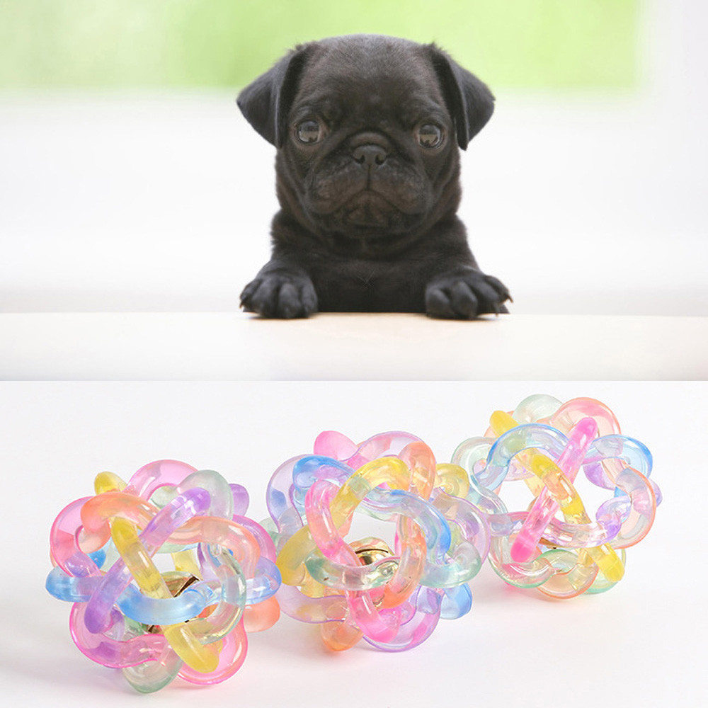 Rubber Squeak Dog Toys for Small Large Dogs Balls Funny