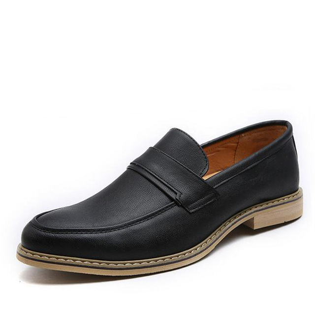 Shoes Men's Shoes Summer Loafers & Slip-Ons For Casual Black Brown White (Color : Black Size : 41)
