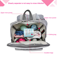 Multi function Mummy Moederschap Luiertas grote Capaciteit Mode Baby Carrier Rugzak Voor Zuigelingen Peuters Dropshipping 2