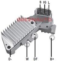 Regulador de tensão 27700-75030 126000-1660 do alternador de 14 v para toyota camry celica 2.2l para o oem 100211-5020 100211-6460 do alternador