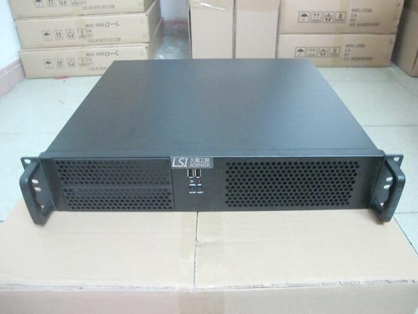 ФОТО Server computer case 2U390mm  industrial  firewall short  Server Chassis