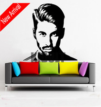 Wall stickers Real Madrid superstar Football player ramos wall decor kids room bedroom decoration  stranger things poster