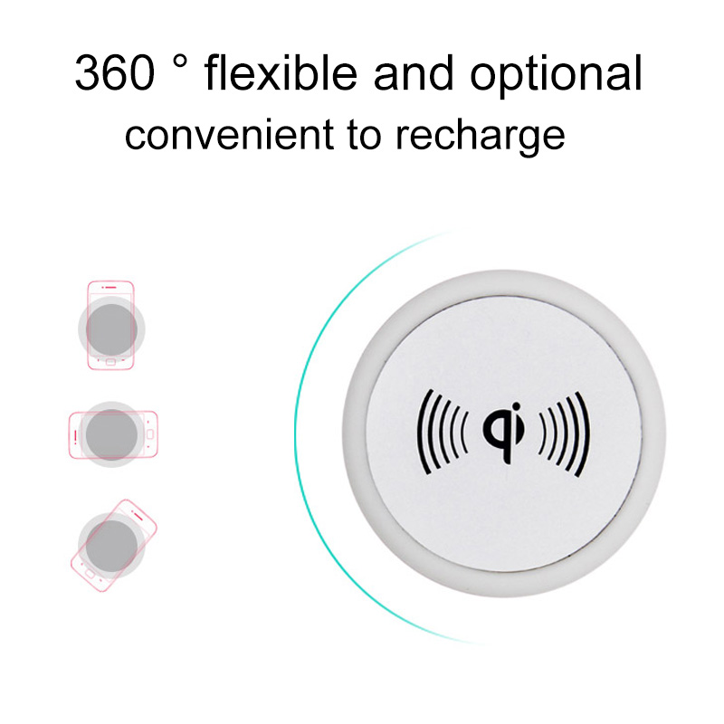 3 In 1 Rechargeable Night Light Qi Wireless Phone Fast Charging Charger Pad Stand 10000mA Power Bank USB Lamp --M25