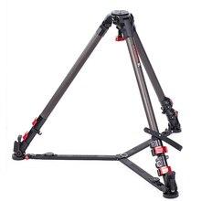 IFOOTAGE Wild Bull T7 Carbon Fiber Legs Skilled Video Digital camera Tripod 88 lbs/40kg max load capability