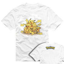 Pokemon T Shirt Parody Anime Game Design T-shirt Cool Novelty Funny Tshirt Style Men Women Printed Fashion Top Tee
