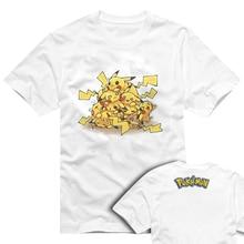 Pokemon T Shirt Parody Anime Game Design T shirt Cool Novelty Funny Tshirt Style Men Women