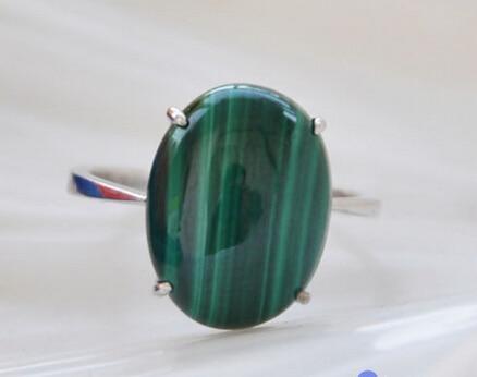 2131 vert ellipse malachite pierre