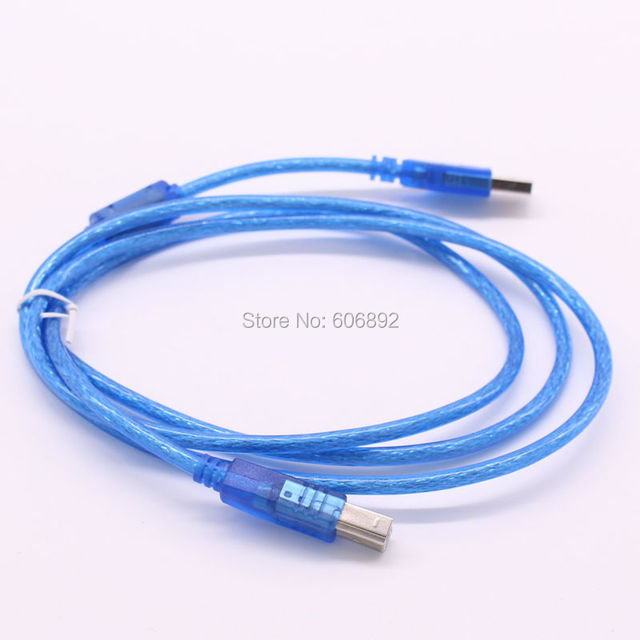 10pcs/lot, 5FT/1.5m For HP DeskJet LaserJet Printer USB 2.0 A-B Cable USB Printer Cable